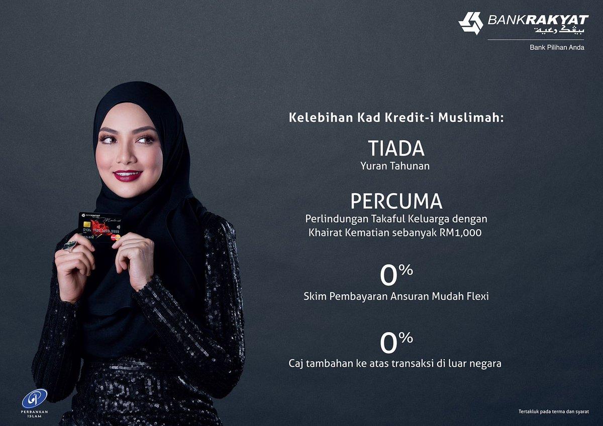 Neelofa على تويتر Bank Rakyat S Kad Muslimah Is The Perfect Card