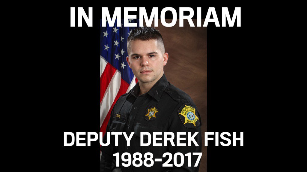 All of us at #LivePD mourning the death of Deputy Derek Fish of Richland County who has appeared on the show. https://t.co/cO4162KwNx