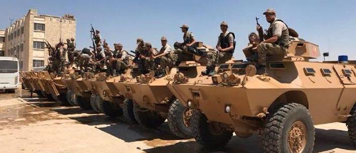 #Turkey deliever a dozen armored vehicles to #FSA Police in northern #Syria #EuphratesShield area https://t.co/0pRpaavVTy