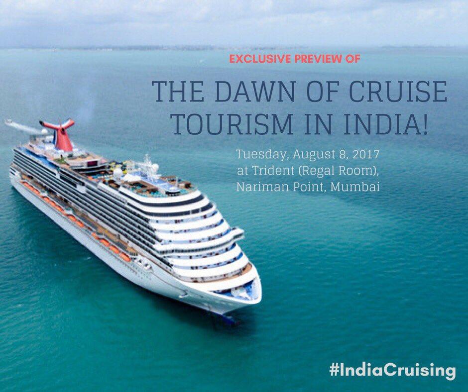 Dawn of cruise tourism in India' inaugurated in Mumbai