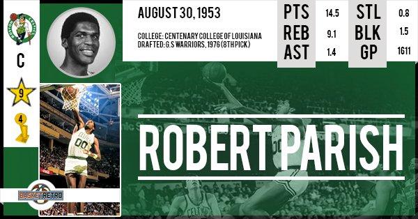 Happy birthday Robert Parish