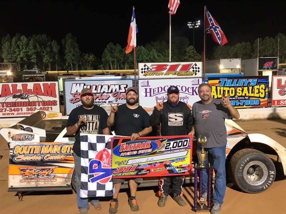 """FASTRAK_SE on Twitter: """"Hicks Hustles At Home For FASTRAK Win Number 3 At 311 Motor Speedway. For more information, please click here: ..."""
