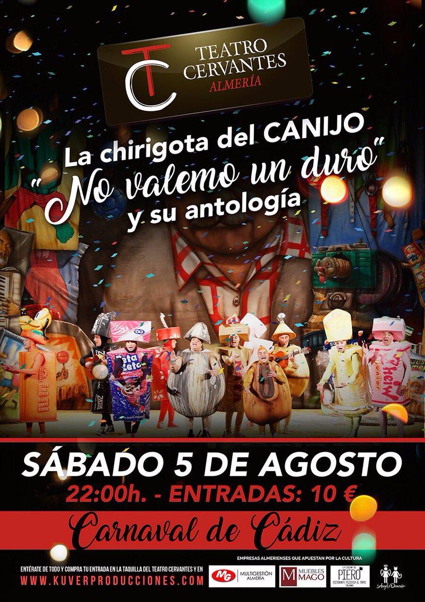 Chirigota Del Canijo On Twitter Nos Vemos Esta Noche En Almeria  # Muebles Paquito