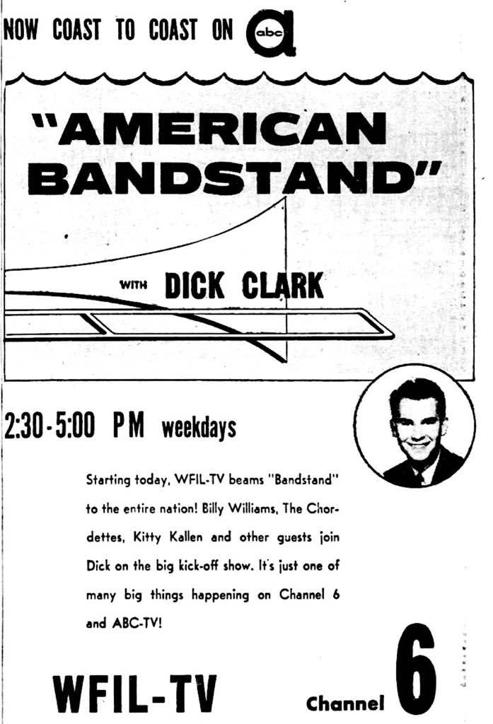 Image result for american bandstand network tv debut