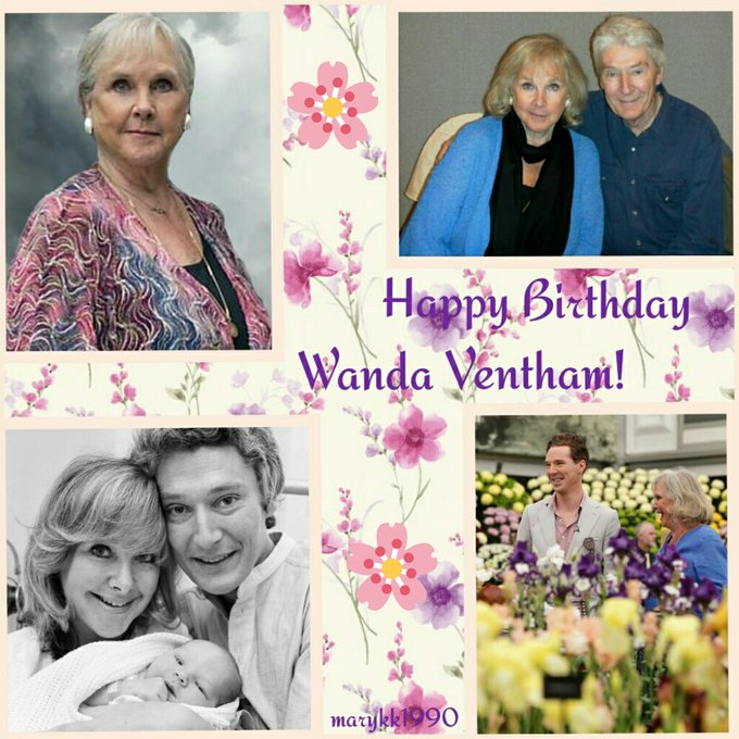 Wishing Happy Birthday to Wanda Ventham! I hope you have a perfect and lovely day with your beautiful family.