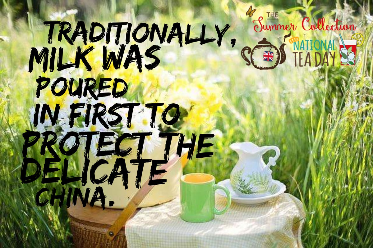 We love tea trivia.. Did you know? #teafacts #tea #nationalteaday <br>http://pic.twitter.com/1BchGizSQh