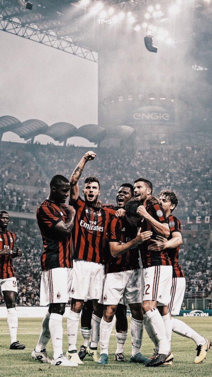Jdesign On Twitter Ac Milan Team Wallpaper Header