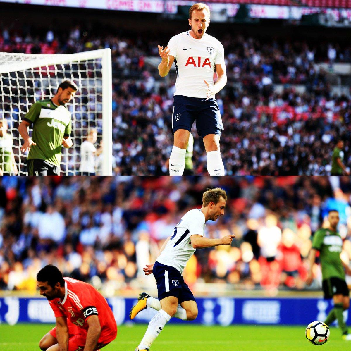 Juventus sconfitta a Wembley dal Tottenham 2-0: preoccupanti buchi difensivi per Allegri