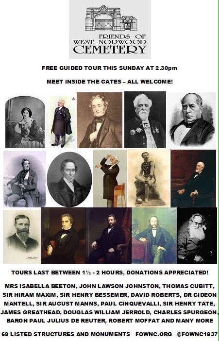 Friends of West Norwood Cemetery (FOWNC) on Twitter: