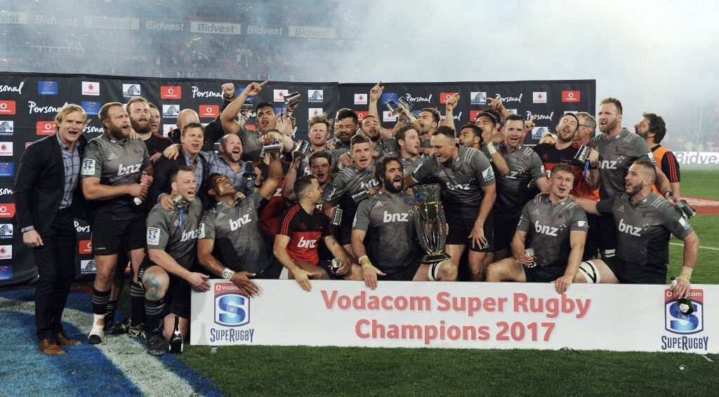 Super Rugby champions 2017. Congratulations to my @crusadersrugby brothers
