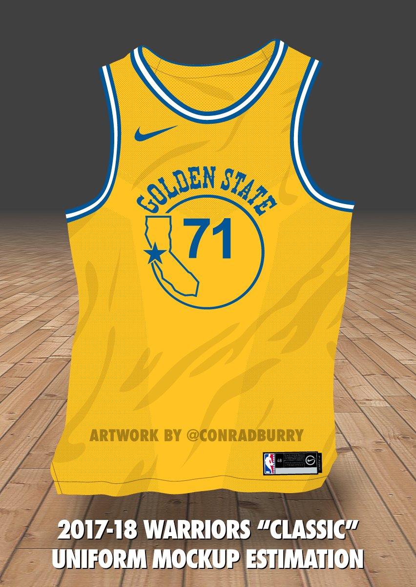 7a9fe9df NBA Nike Jersey News: Warriors