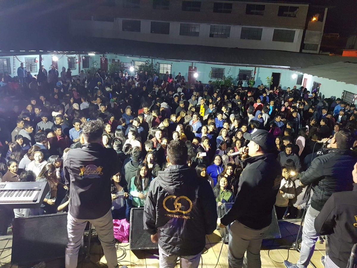 Y así fue San Luis de Jancos Cajamarca, gracias por todo el cariño y bendiciones para nosotros... hasta pronto, hoy es Cajamarca centro.. https://t.co/59g4SljDHK