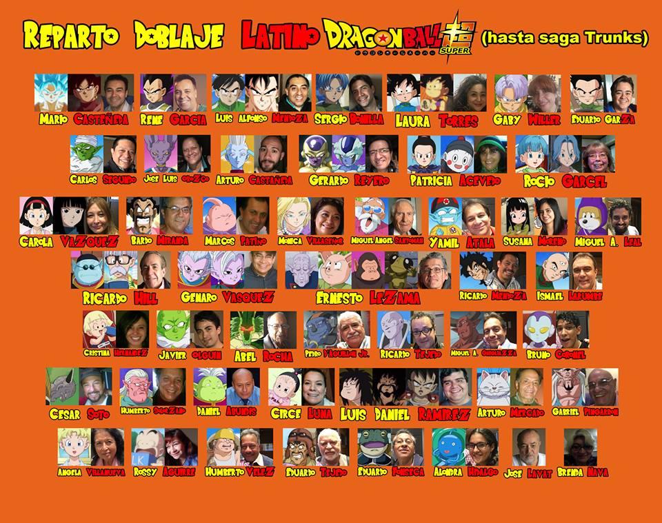 Les recordamos el elenco de doblaje de #DragonBallSuper quien como saben, es dirigido por Eduardo Garza (@LaloGarx ) https://t.co/aGKeO4R78Z