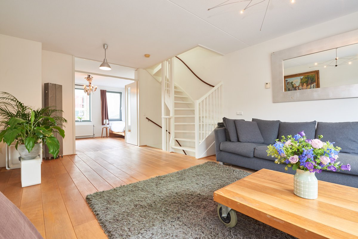 This #house In #Amsterdam #IJburg Is Available! 3 Bedrooms, Office, Garage,  Balcony, Roof Terrace.