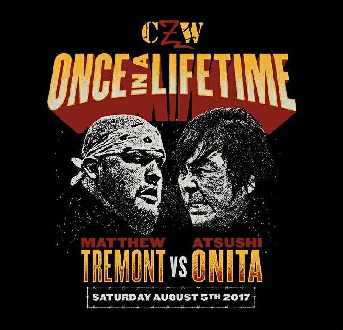 """CZW: Resultados """"Once in a Lifetime"""" 05/08/2014 La noche en que Onita hizo historia 1"""