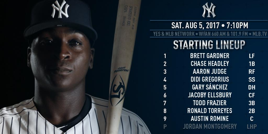 Game 3 of 4 in Cleveland. Gardy leading off, Didi batting cleanup, Gumby on the mound. https://t.co/kuDbd8pnJh https://t.co/yXn4FOdg94