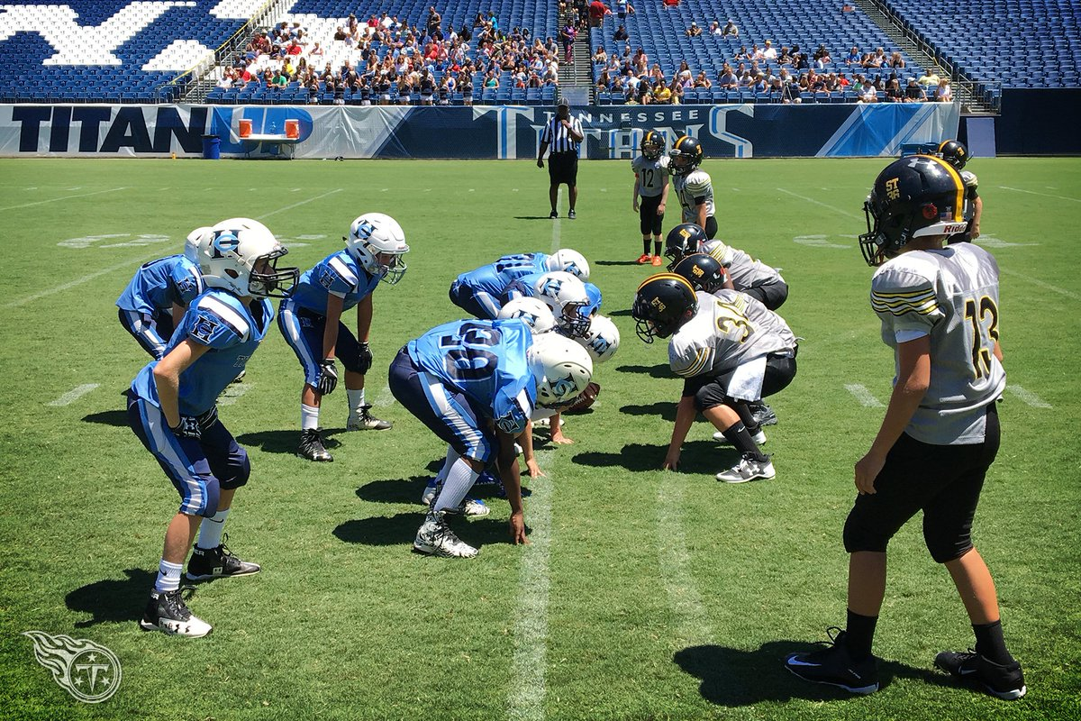 Wholesale Tennessee Titans on Twitter: #Titans Youth Football Jamboree at  for cheap