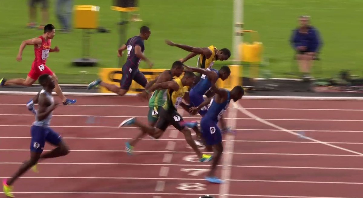 Usain Bolt Loses His Last Ever Worlds 100m Race To Justin Gatlin