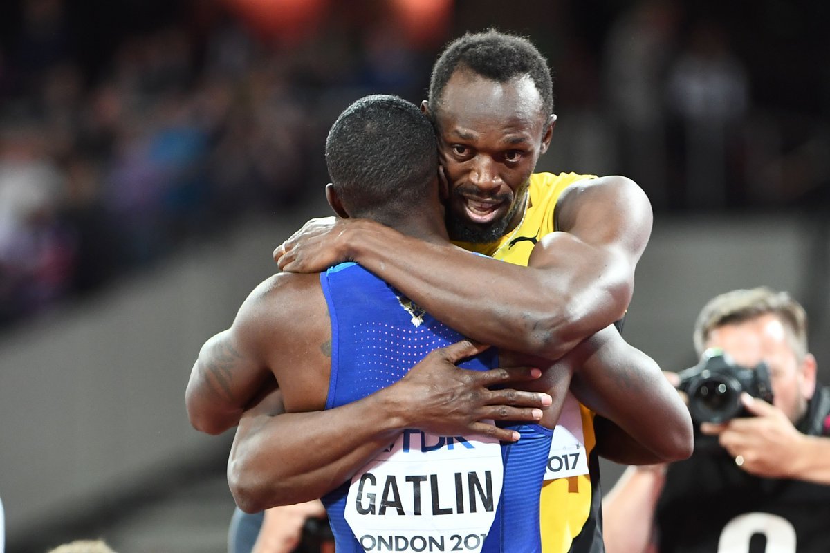 Breaking: Usain Bolt beaten by Justin Gatlin at 2017 World Championships in final 100m race of career