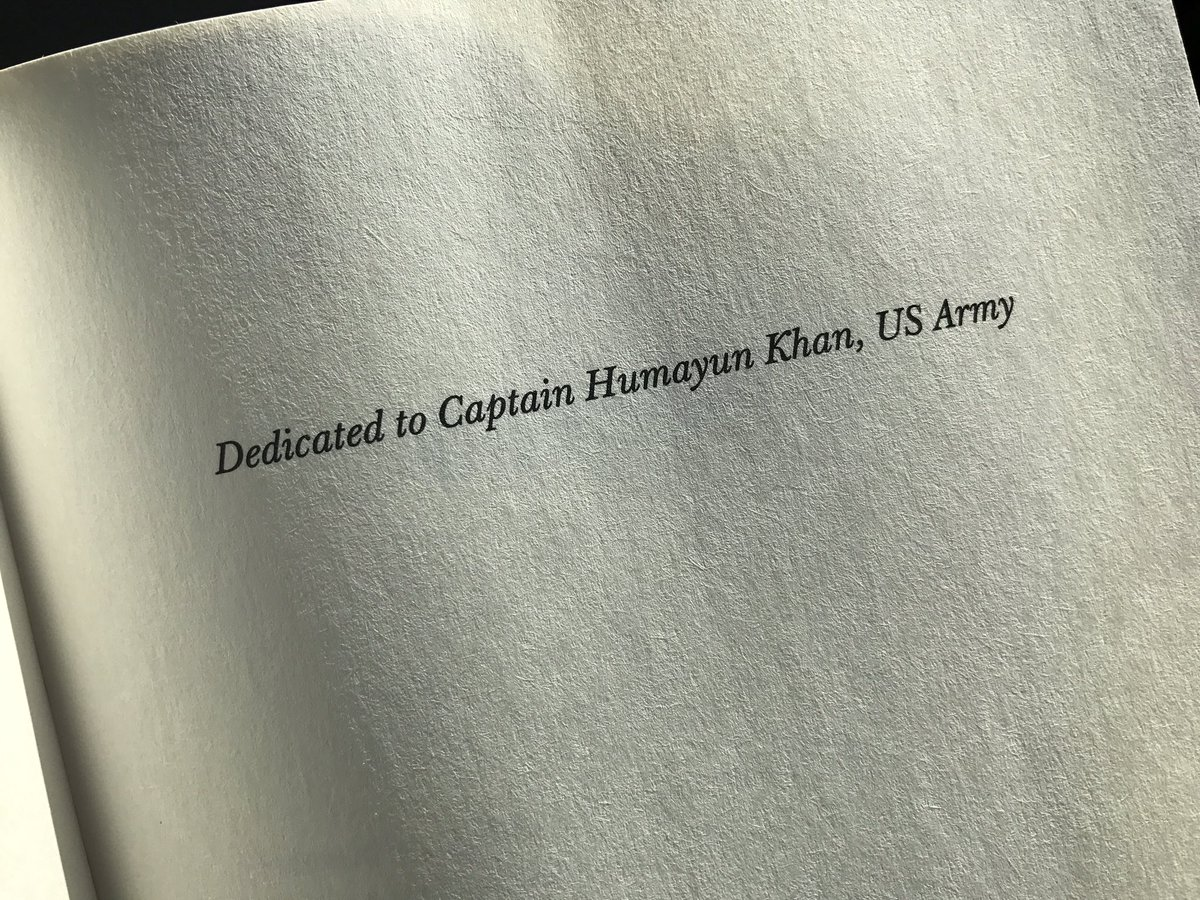 The dedication inside @MalcolmNance's book. #NeverForget https://t.co/wO07SEIC1A