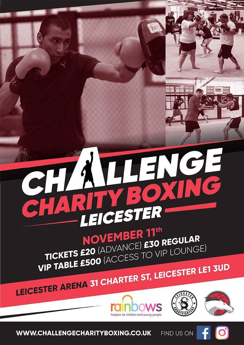 Image result for challenge charity boxing leicester