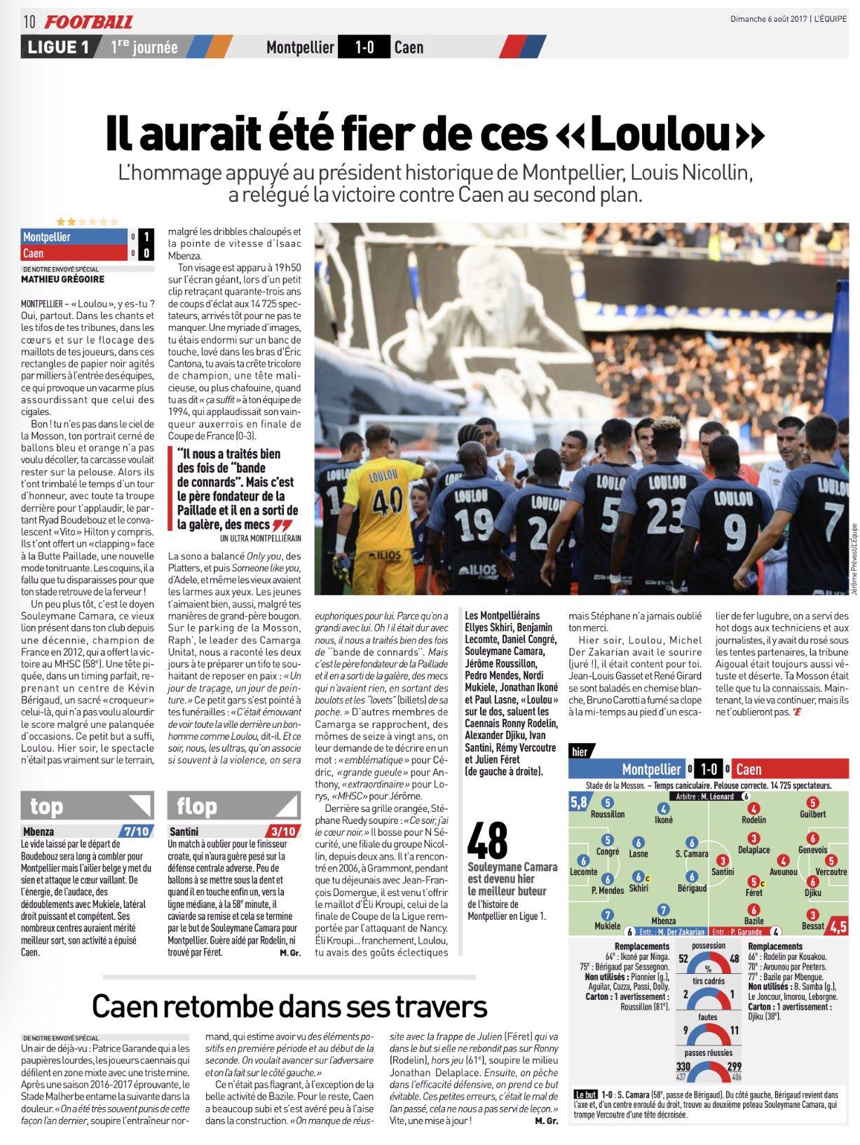 [1e journée de L1] Montpellier HSC 1-0 SM Caen - Page 2 DGgCwCHWsAUntoy