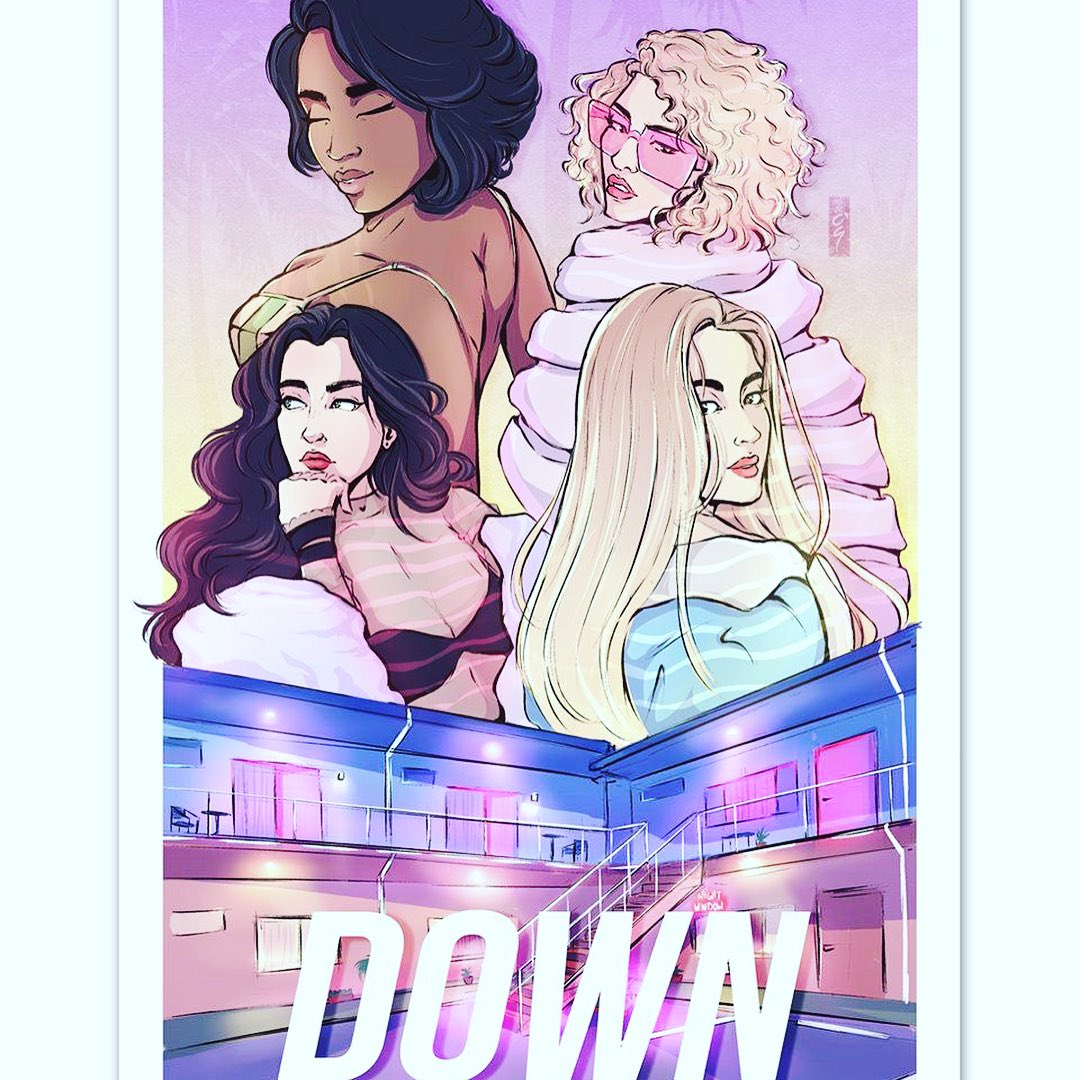 Go ahead @roogomes!!! This is amazing babe 😍 #DOWN