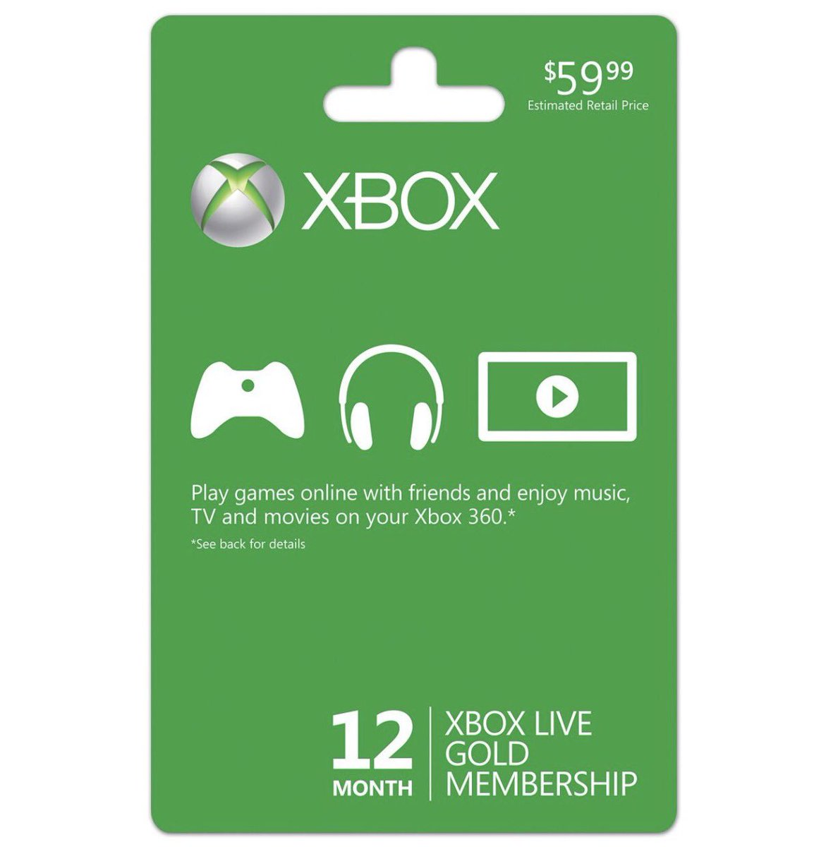 12 months of Xbox Live up for grabs. Just RT and you're entered. #Xbox https://t.co/d3e2OySBAi
