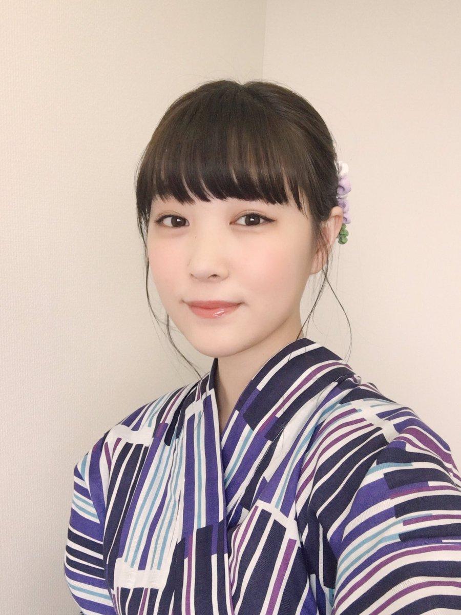 柴田ひかり浴衣