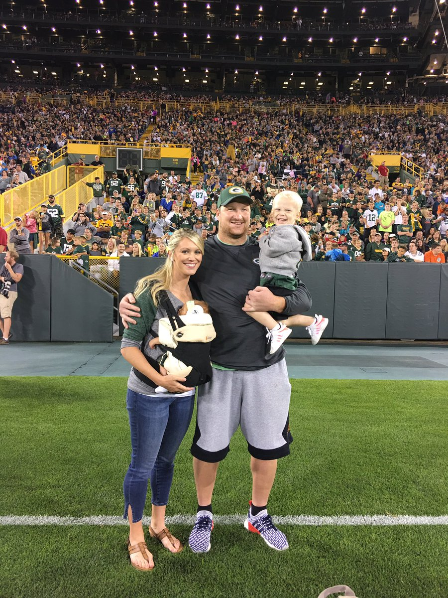 "Bryan Bulaga on Twitter ""What a great atmosphere for family night"