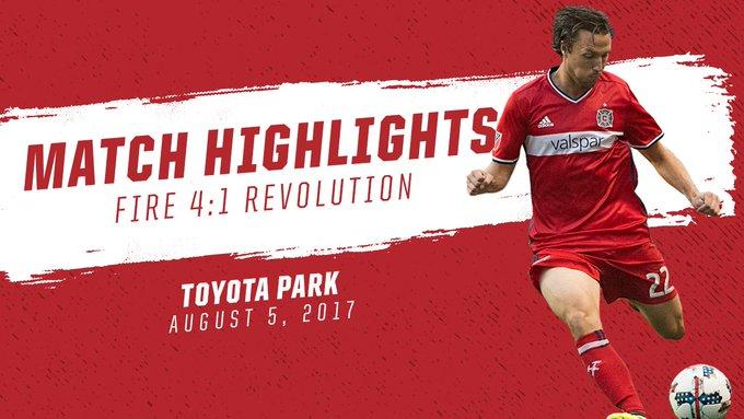 f31cdf30c Photo: Chicago Fire vs. New England Revolution 08/06/2017 | Matchcenter