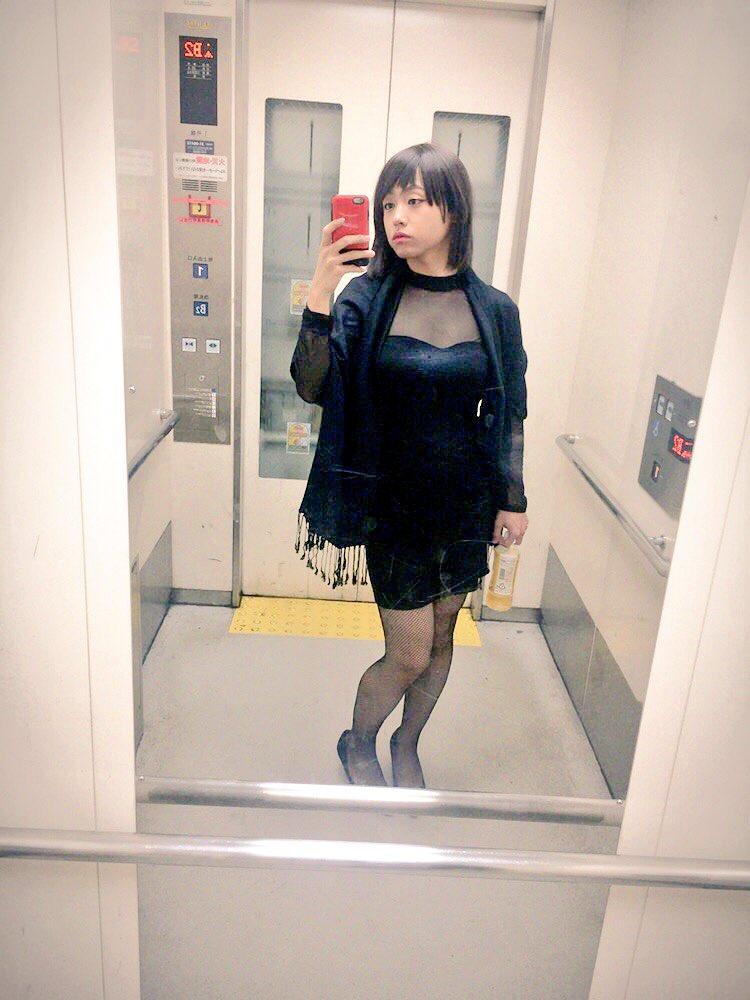 女装女装_なお@女の子クラブ on Twitter: ご報告 この格好で電車乗ってまし ...