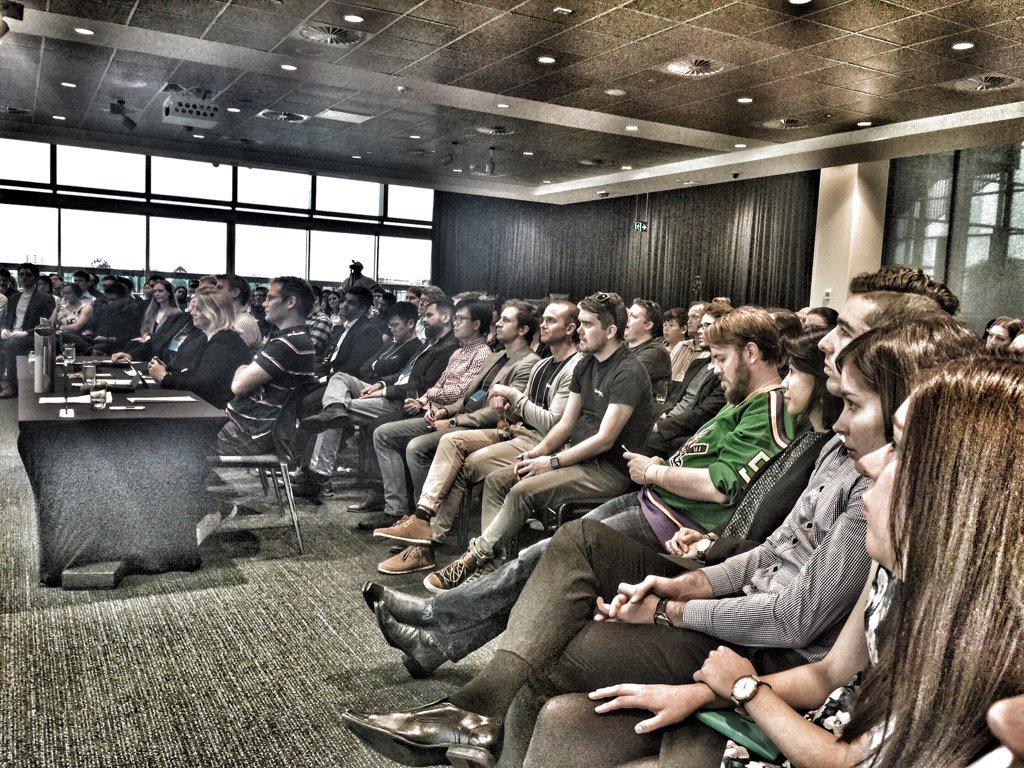 Massive audience at #Disruptinglaw @qut https://t.co/6QXuFPpHYH
