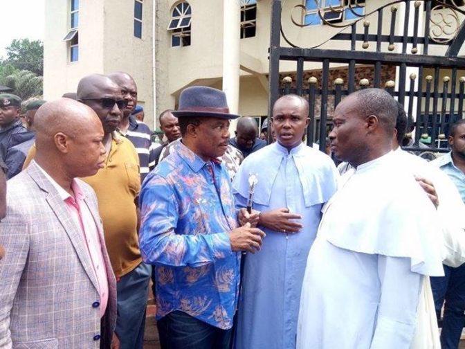 Igbo Ekunie Initiative [IEI] condemned the recent massacre of unsuspecting congregants at a Catholic church in Ozubulu, Ekwusigo LGA, Anambra state.