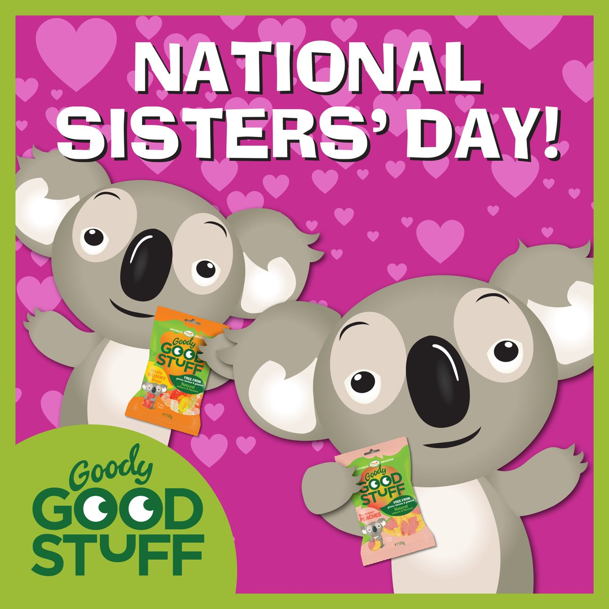 goody good stuff on twitter happy national sisters day like and