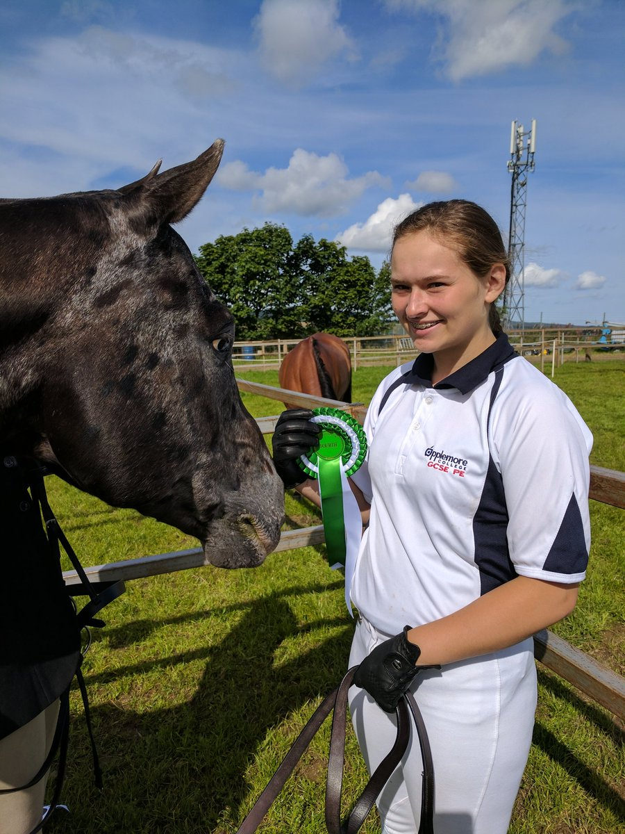 4th in the Keith County Show. #happy #proud @Applemore_Coll #GCSE #PE<br>http://pic.twitter.com/QAmucja6Yu