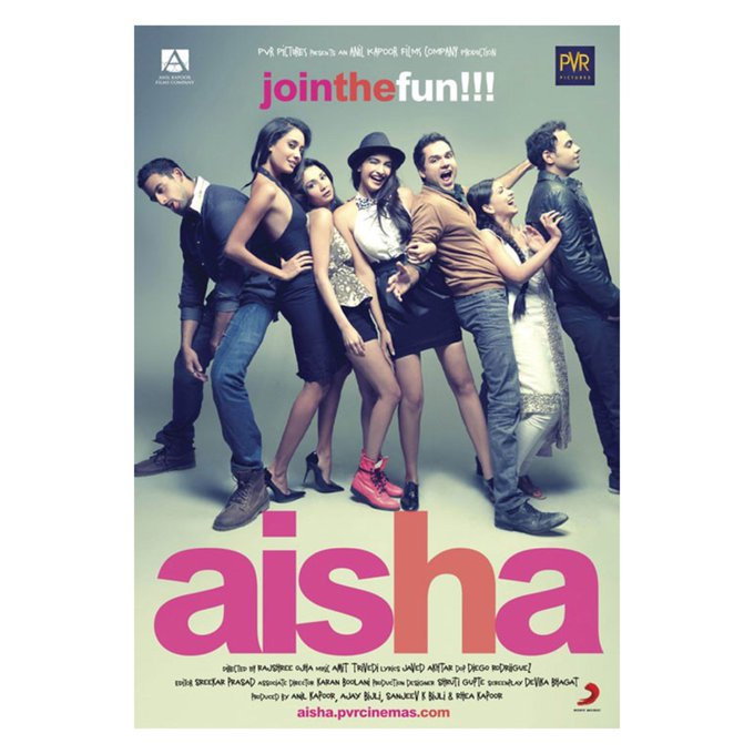 Here's one to Aishaaa! 📢, a movie that filled our hearts with love, laughter & everlasting bonds. #7YearsOfAisha https://t.co/vfeLAHh2o6