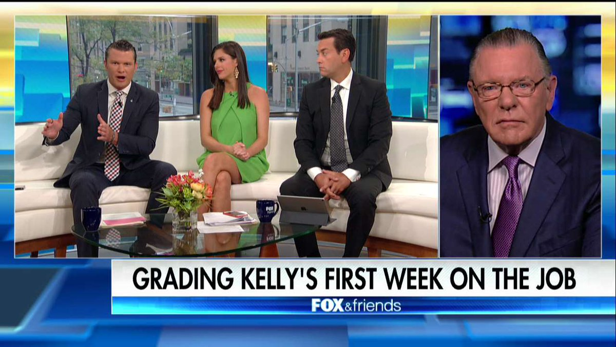 General Jack Keane on new chief of staff John Kelly: 'His career has prepared him well for the job.'