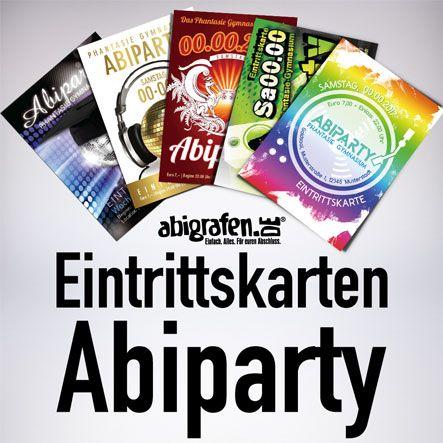 Abigrafende Gmbh On Twitter Eintrittskarten Für Die Abiparty Inkl