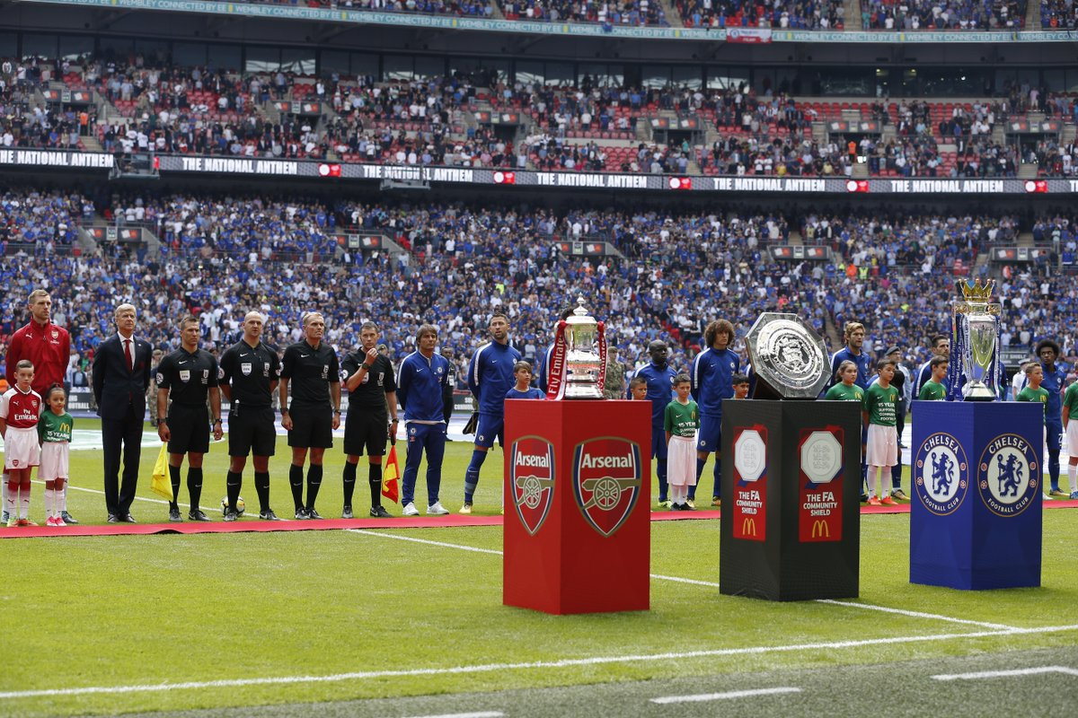 Arsenal vs Chelsea Community Shield Highlights