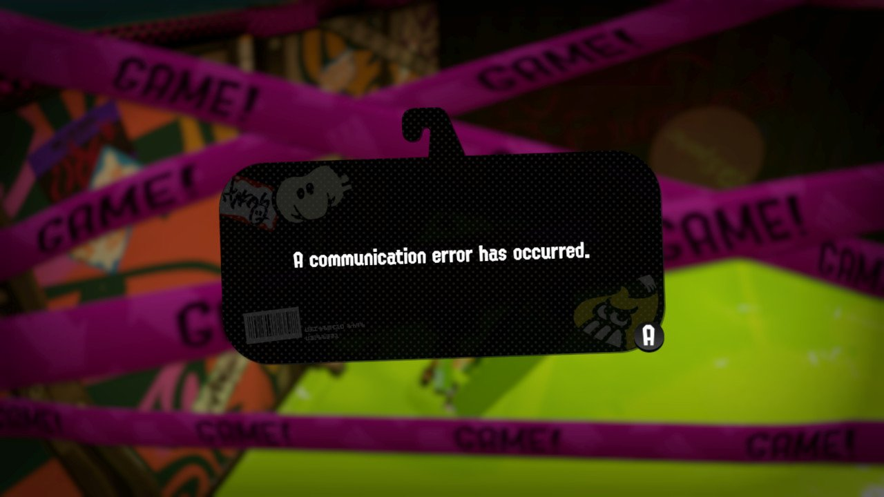 Communication error after a match's end, kicking everyone out anyway