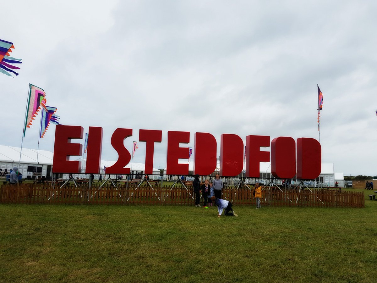 Dewch i'r Steddfod! It's here, come to the Eisteddfod!