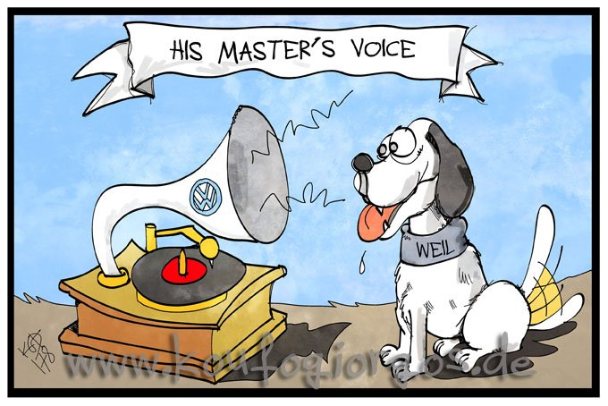 His Master&#39;s Voice #Weil #Niedersachen #VW #Dieselgate #Regierungserklaerung<br>http://pic.twitter.com/B56s0KXIxK
