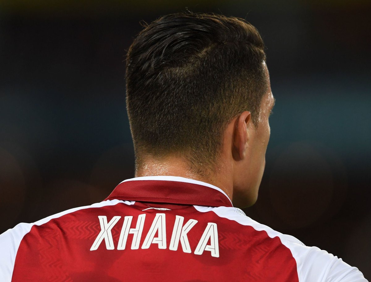 Afcstuff On Twitter Official Granit Xhaka Has Been Awarded Man Of