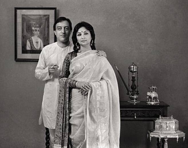 """Film History Pics on Twitter: """"Sharmila Tagore and Mansoor ..."""
