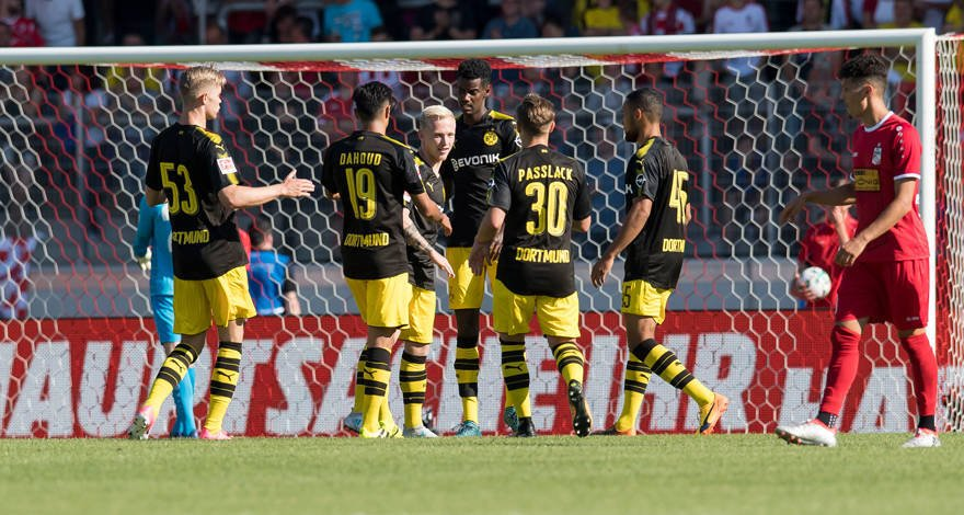 Video: Rot-Weiß Erfurt vs Borussia Dortmund