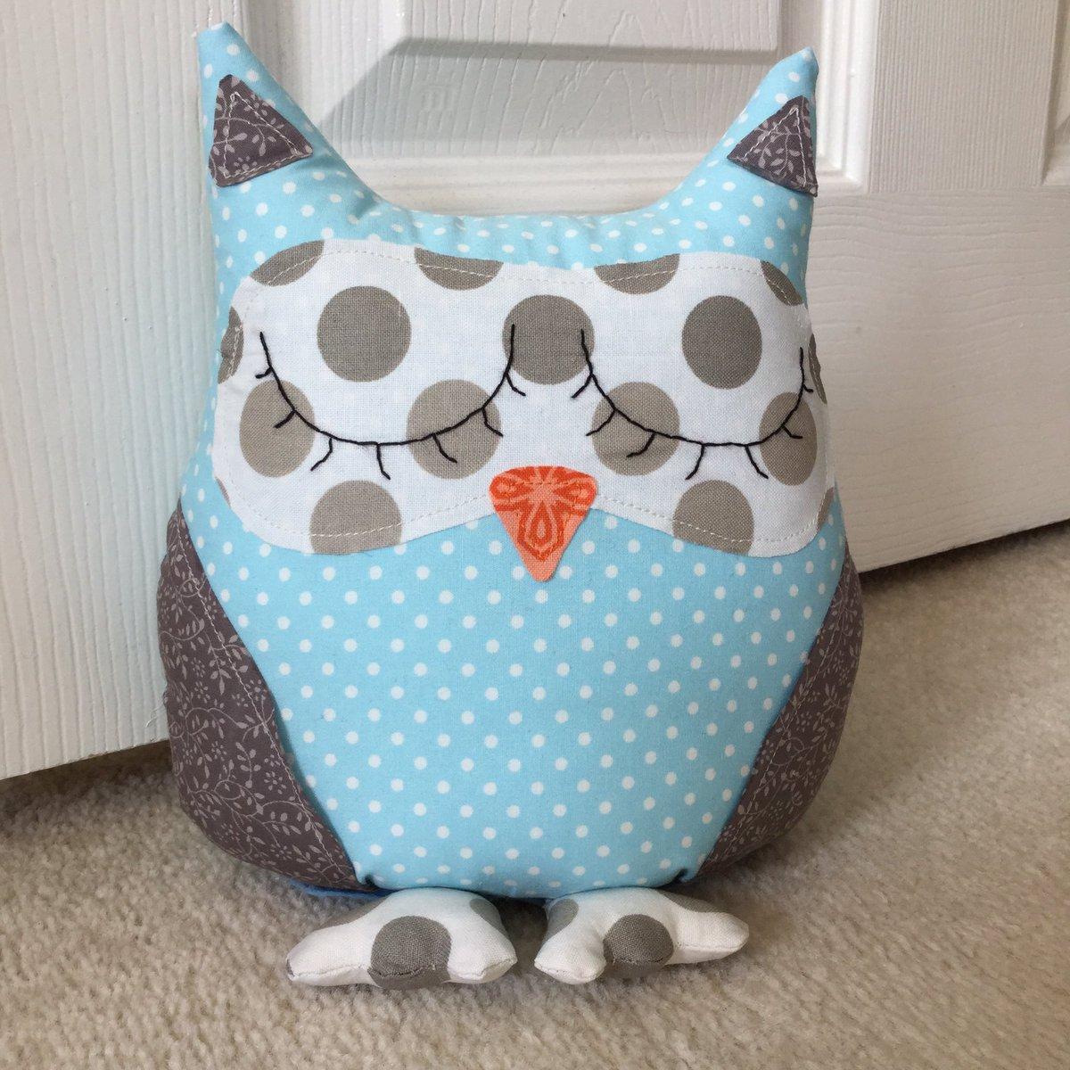 Why not try making your own owl doorstop?  http:// aboxofbuttons.wordpress.com/2017/08/02/fab ric-polka-dot-owl-doorstop/ &nbsp; …  #crafthour #diy #sewing #aboxofbuttons #owl #doorstop #craft #sew #blog<br>http://pic.twitter.com/q3e3ibCcwX