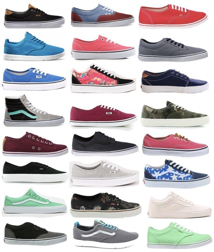 NEU VANS Damen Herren Sneaker Schuhe Freizeitschuhe Skaterschuhe Turnschuhe