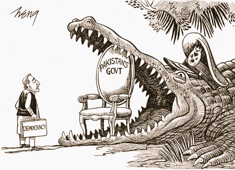 In the @nytimes, cartoonist Heng on democracy in Pakistan https://t.co/zzi4CF6KV7 https://t.co/uhK30cYEgP