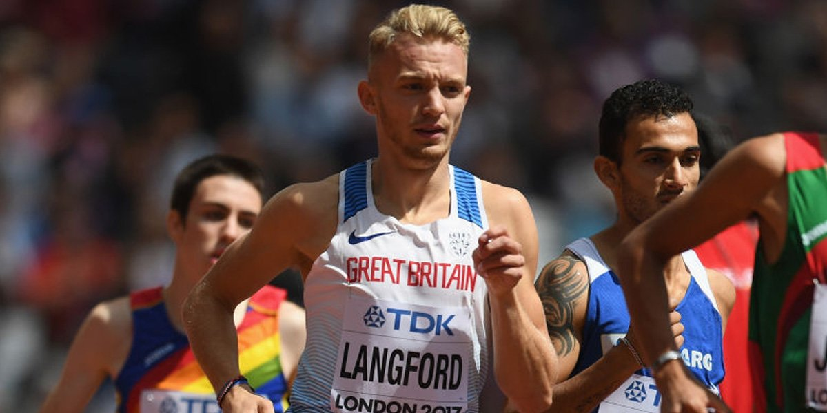 Watford's Kyle Langford qualifies for World Athletics Championships 800m final